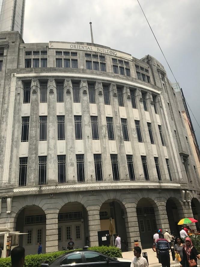 The Famous Oriental Building