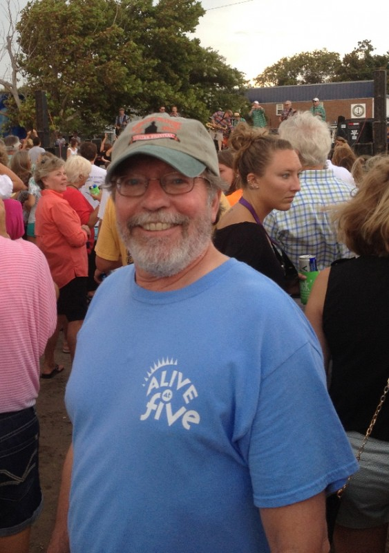 Tom Kies, Executive Director of Downtown Morehead Revitalization Association